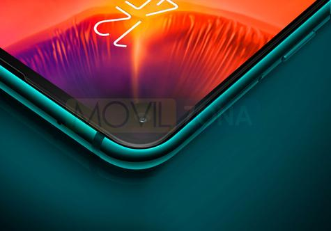 Samsung Galaxy A8s verde