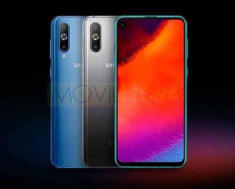 Samsung Galaxy A8s colores