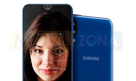 Samsung Galaxy M20 reconocimiento facial