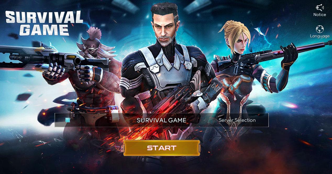 Survival-Game Xiaomi
