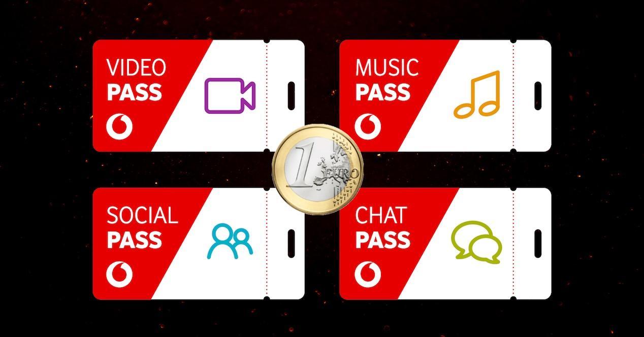 Vodafone Pass 1 euro