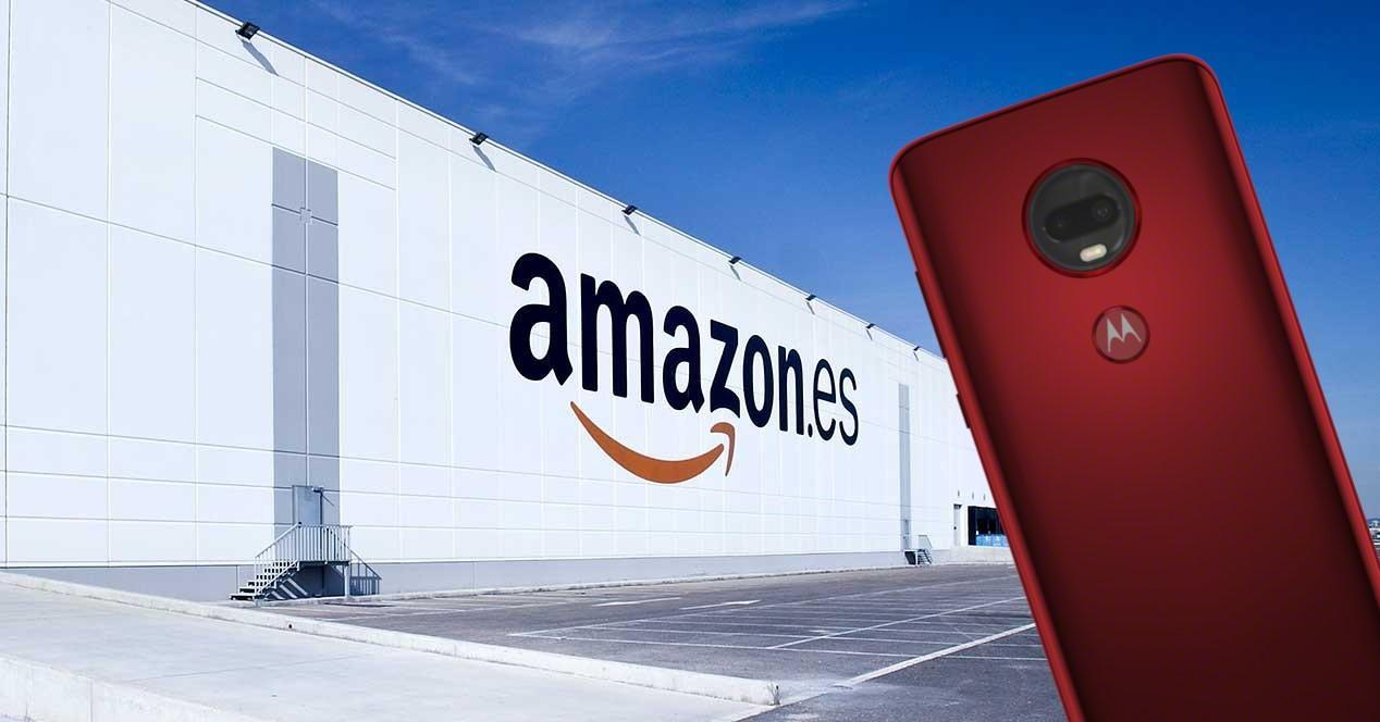 Amazon Moto G7 portada