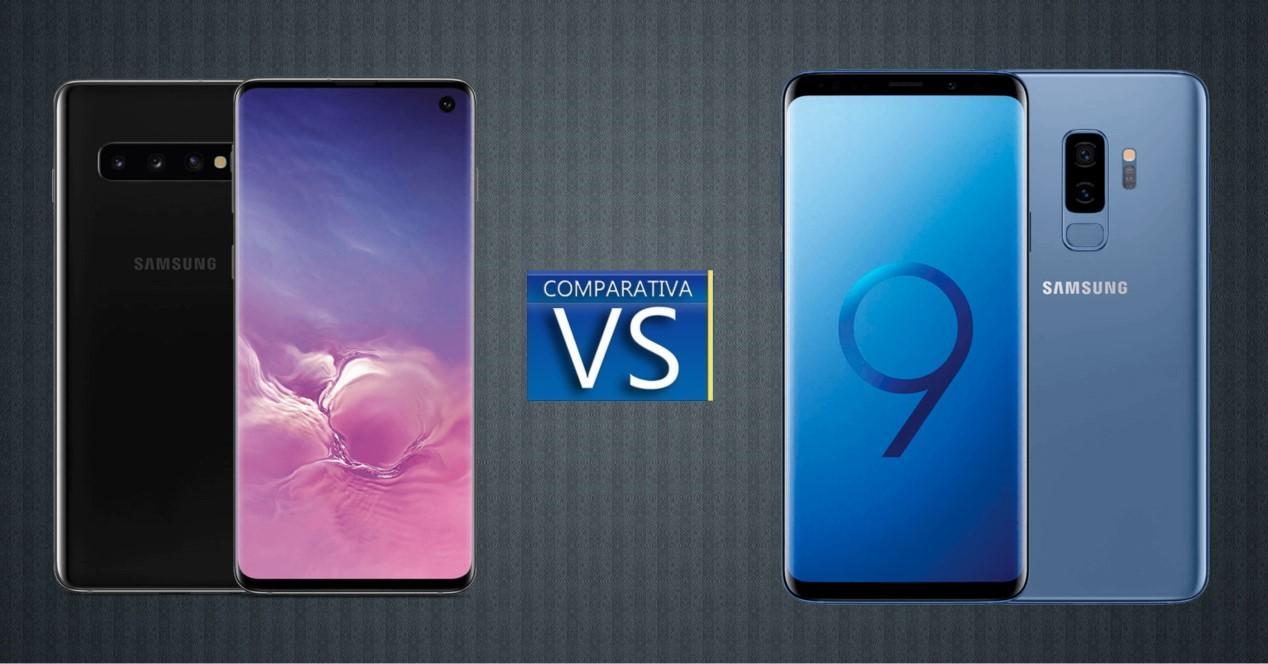 Comparativa Galaxy S10 y Galaxy S9