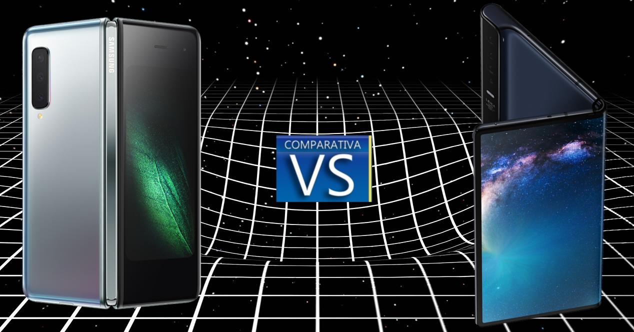 Galaxy Fold vs Mate X comparativa portada