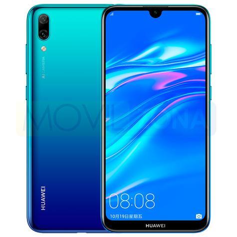 Huawei Enjoy 9 negro y azul