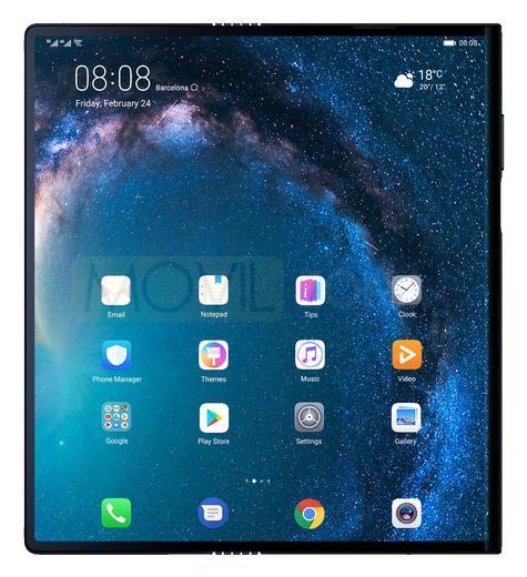 Huawei Mate X frontal
