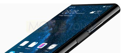 Huawei Mate X huella dactilar
