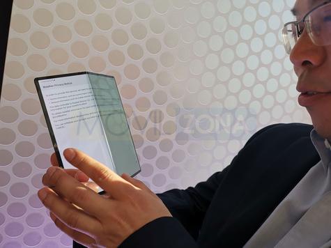 Huawei Mate X plegado