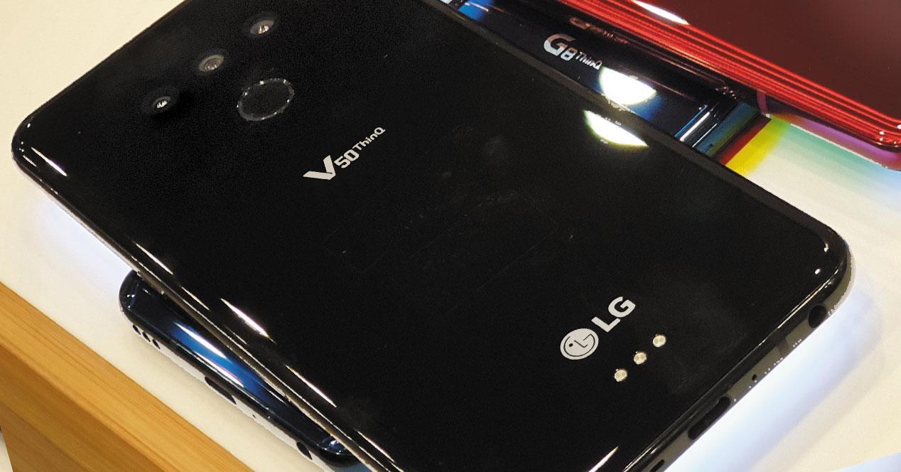 LG V50 5G negro