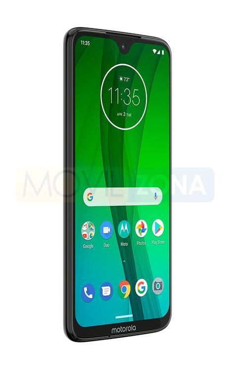 Motorola G7 vista lateral