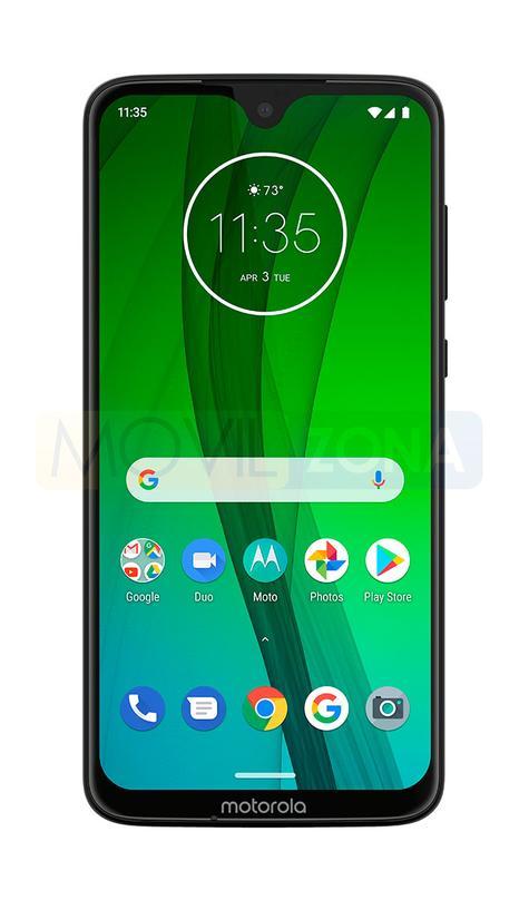 Motorola G7 frontal