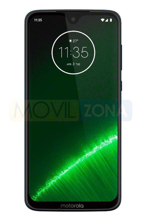 Motorola G7 Plus frontal