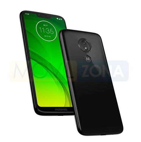 Motorola Moto G7 Power blanco y negro