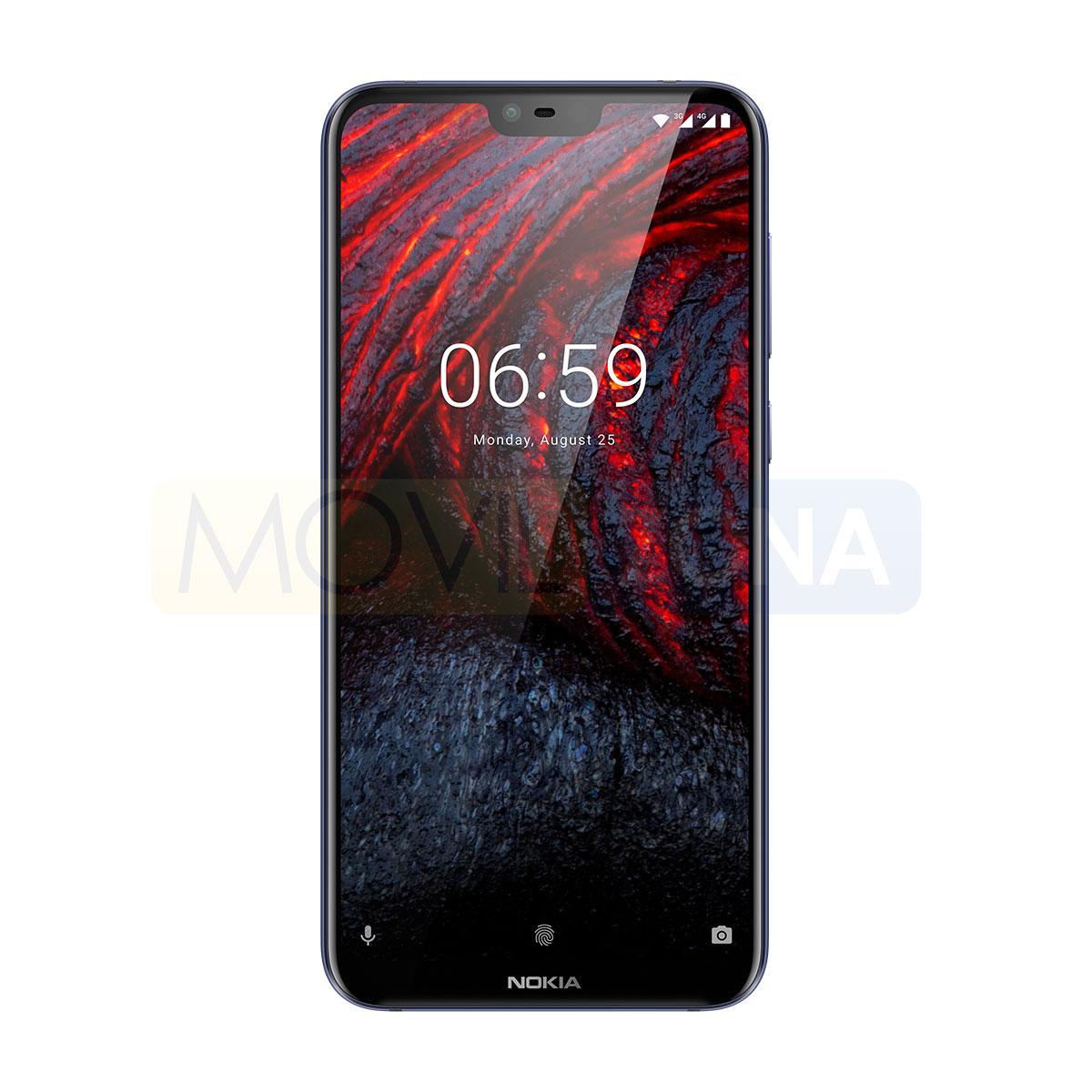 Nokia 6.1 Plus frontal