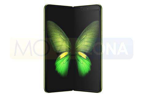 Samsung Galaxy Fold abierto