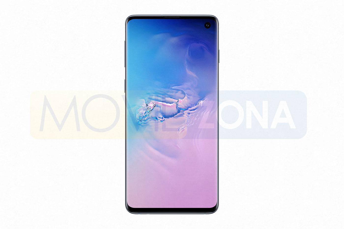 Samsung Galaxy S10 frontal