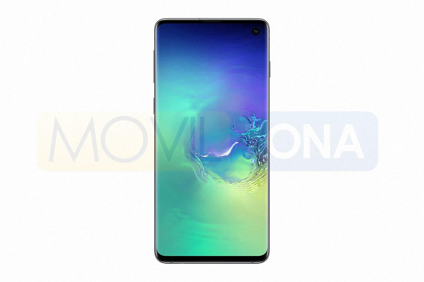 Samsung Galaxy S10 verde