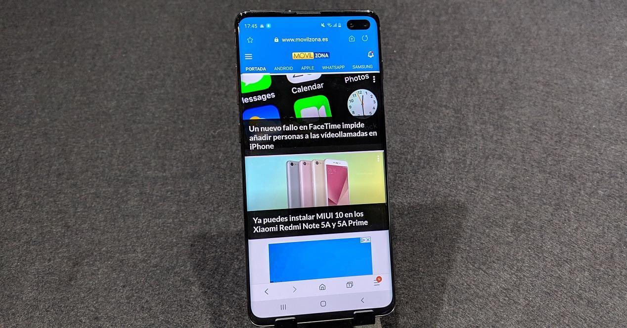 Samsung Galaxy S10 Movilzona