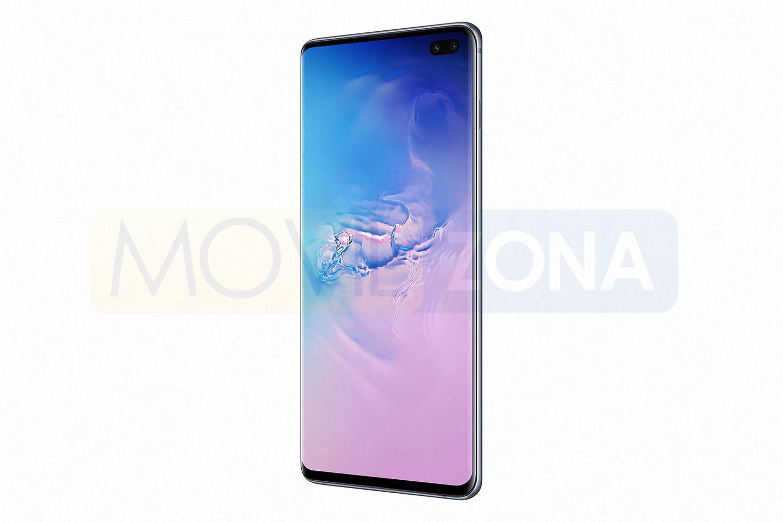 Samsung Galaxy S10 Plus vista lateral