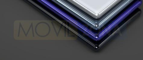 Sony Xperia X1 detalle de colores