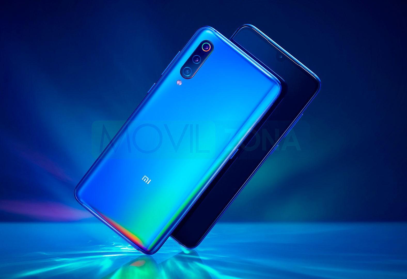 Xiaomi Mi 9 azul
