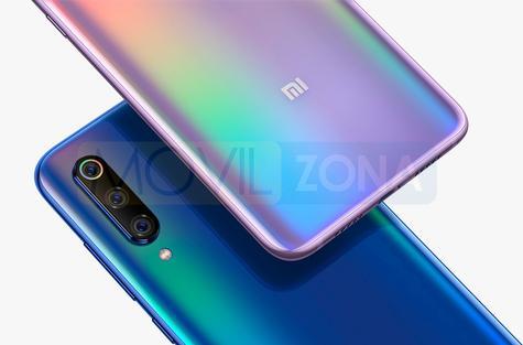 Xiaomi Mi 9 rosa azul