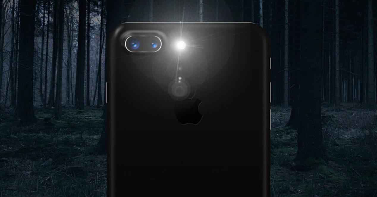 linterna iphone