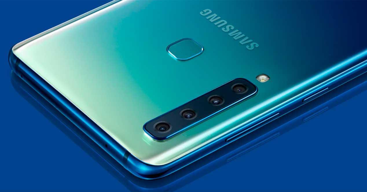 cámara del Samsung Galaxy A90