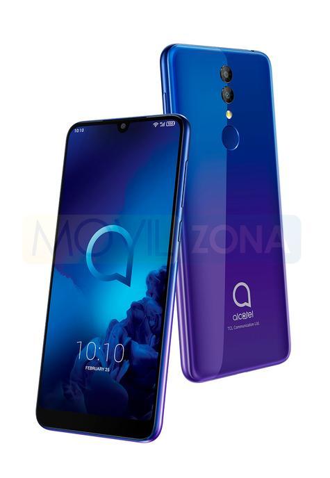 Alcatel 3 azul