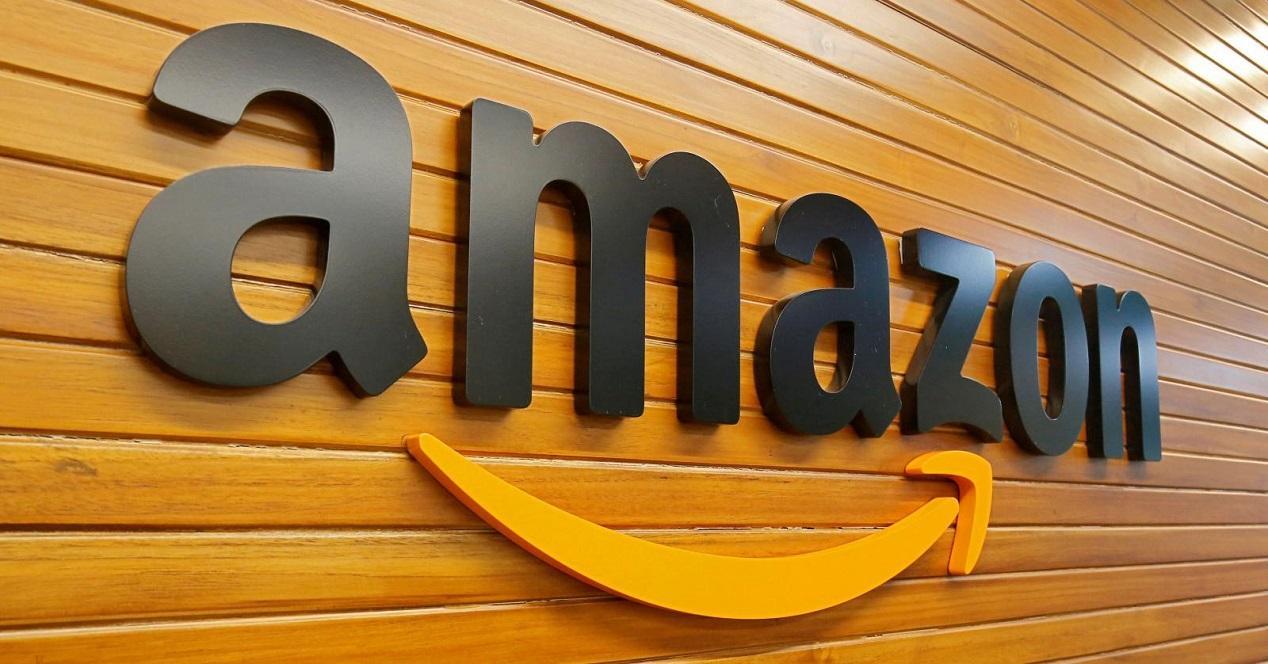 Amazon logo madera