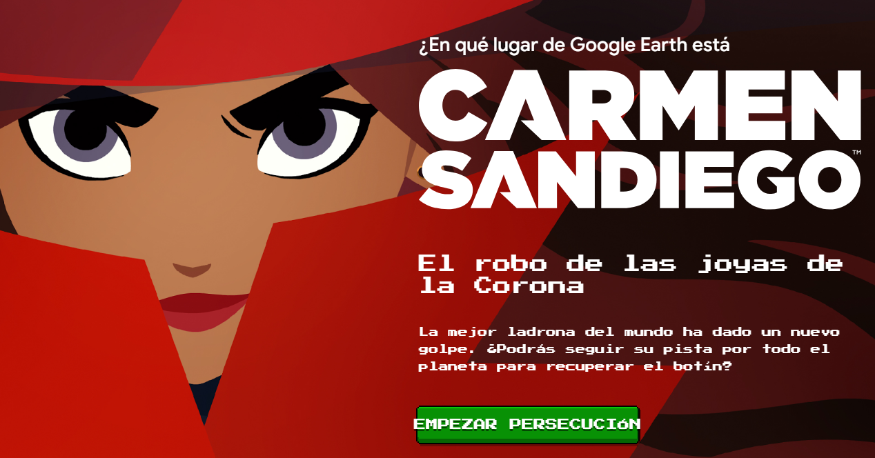 Carmen San Diego Google Earth