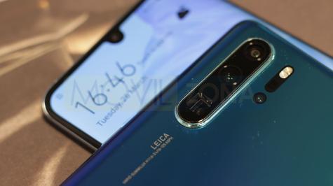 Huawei P30 Pro notch y cámara