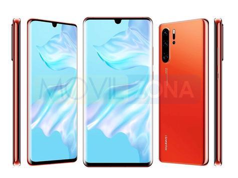 Huawei P30 Pro gama de colores y modelos