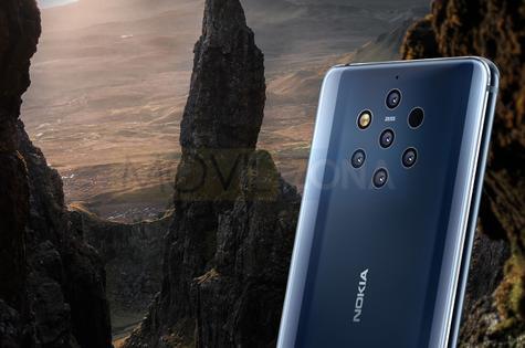 Nokia 9 PureView cámara