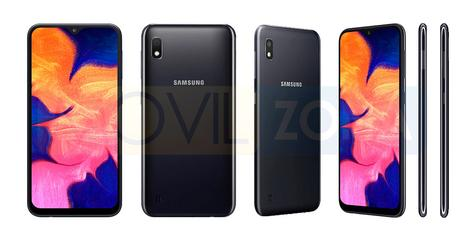 Samsung Galaxy A10 color negro