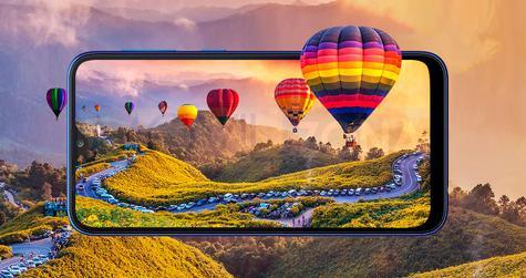 Samsung Galaxy A10 pantalla