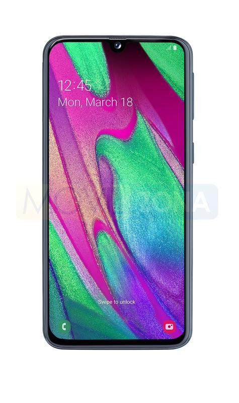 Samsung Galaxy A40 frontal