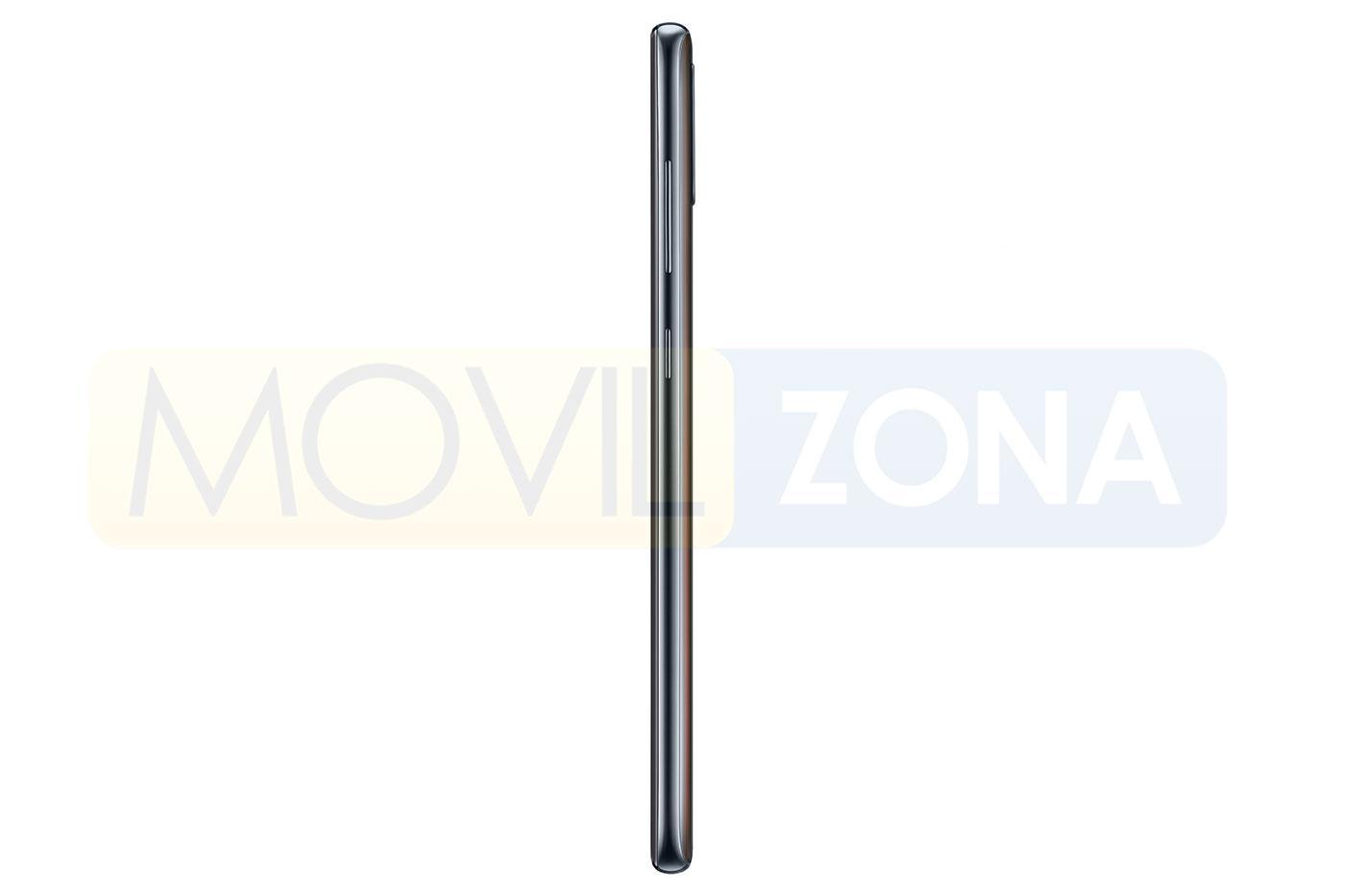 Samsung Galaxy A70 lateral