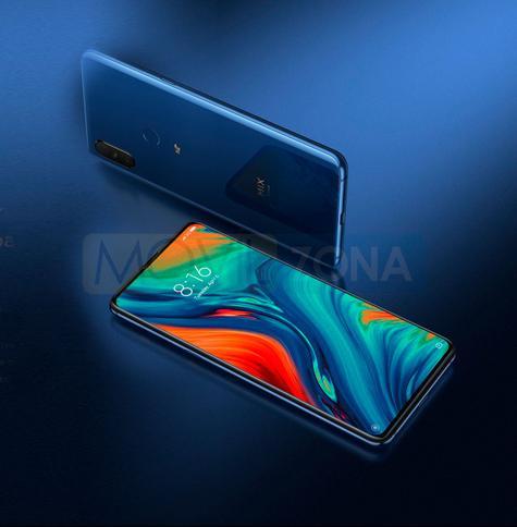 Xiaomi Mi Mix 3 5G pantalla