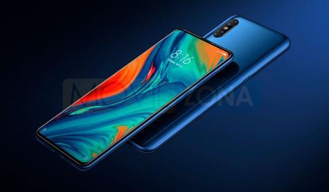 Xiaomi Mi Mix 3 5G diseño