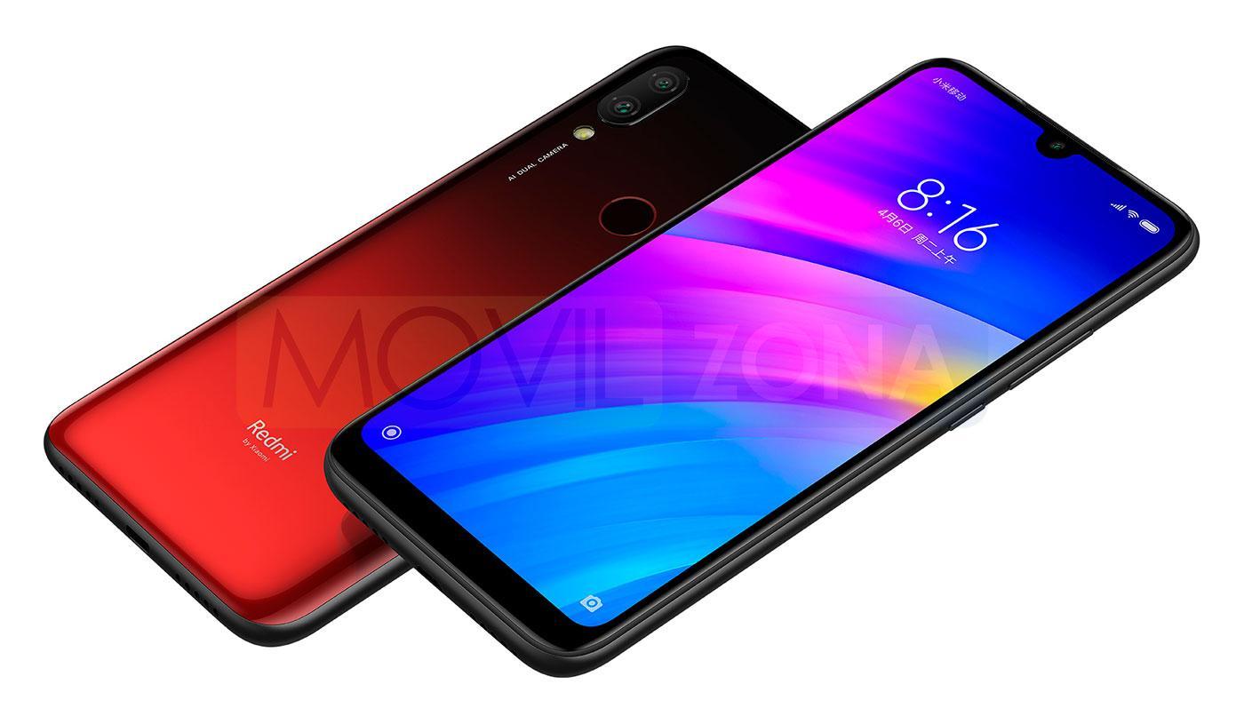 Xiaomi Redmi 7 pantalla Android