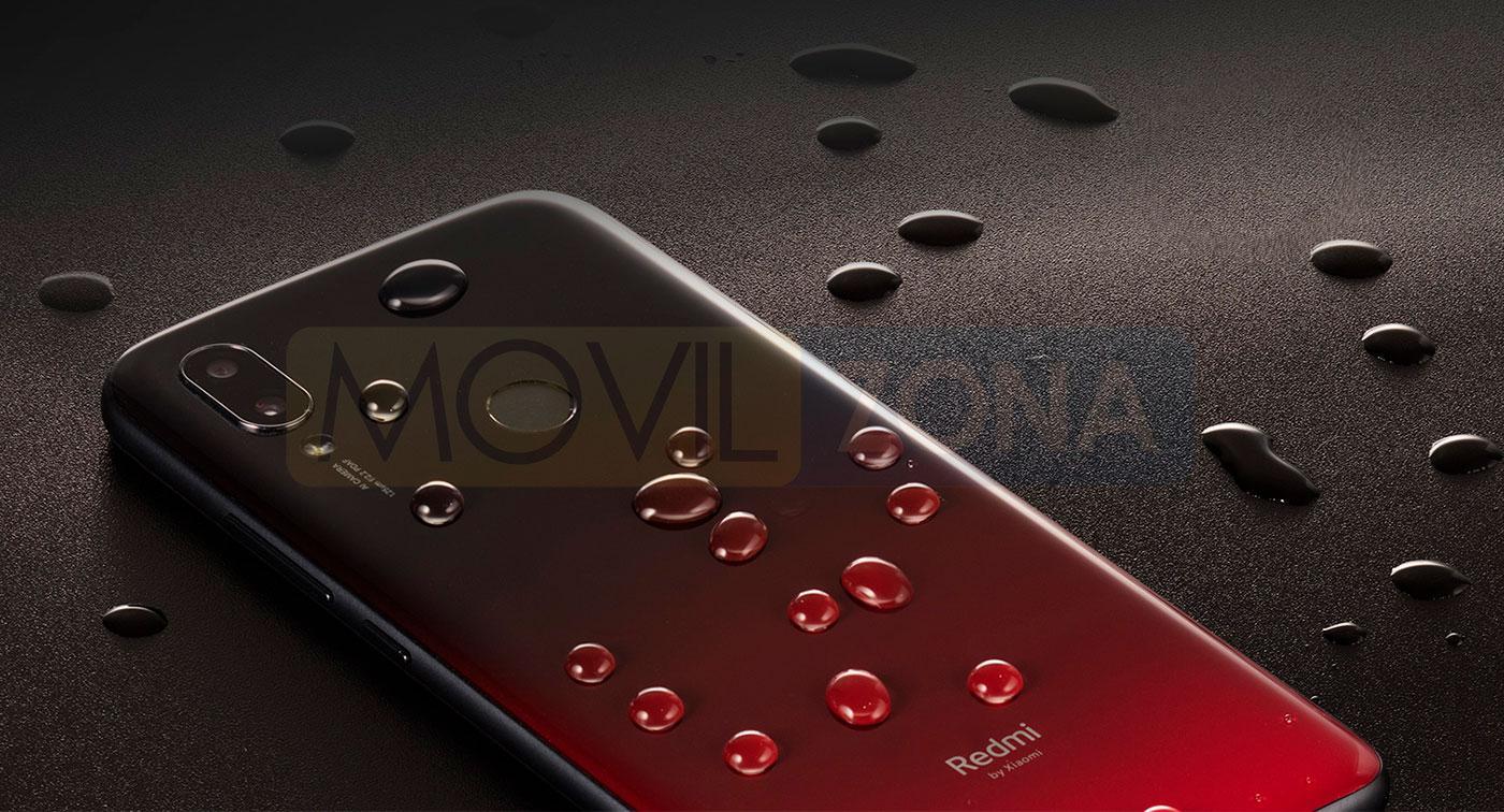 Xiaomi Redmi 7 resistencia al algua