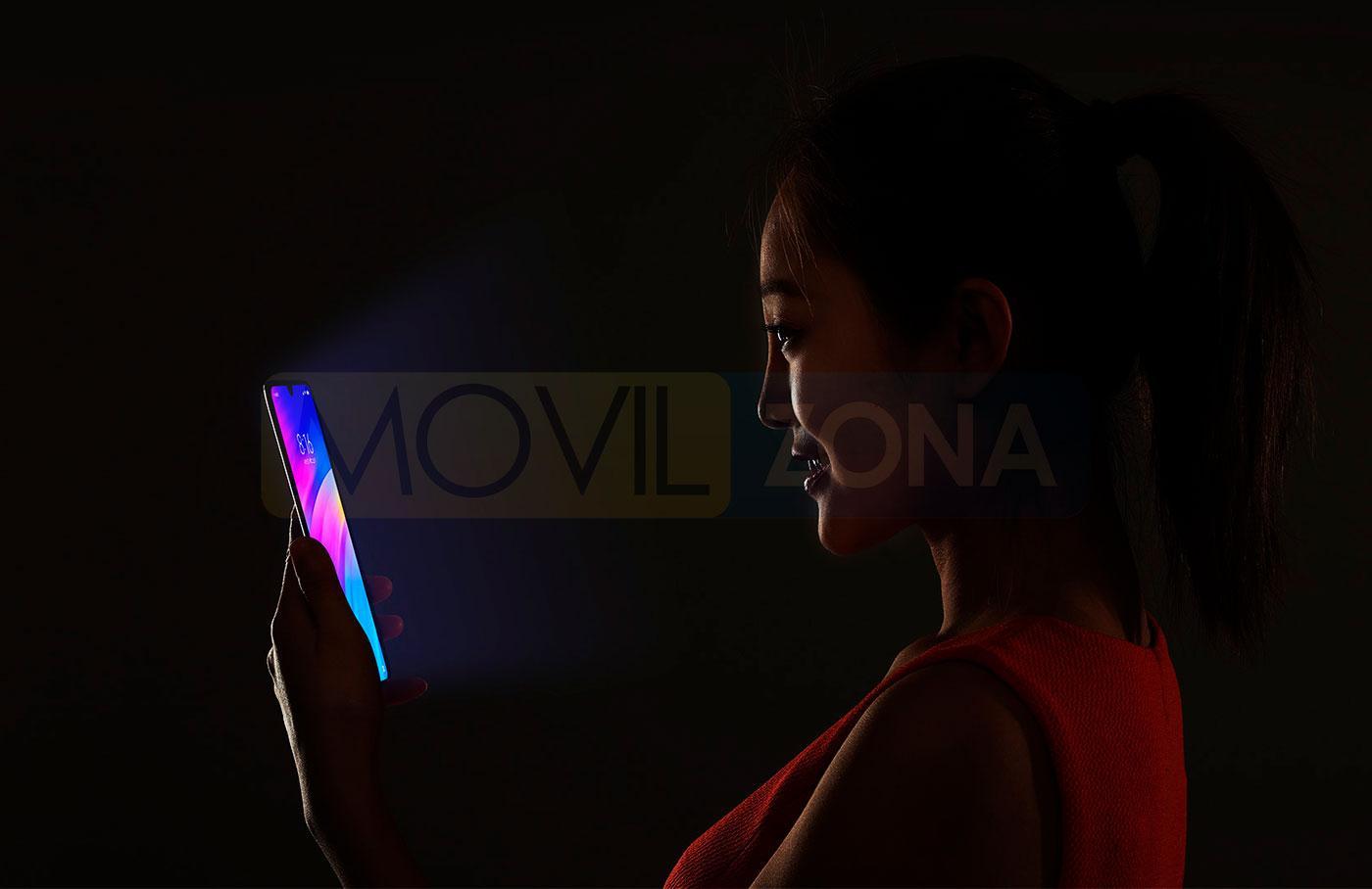 Xiaomi Redmi 7 reconocimiento facial