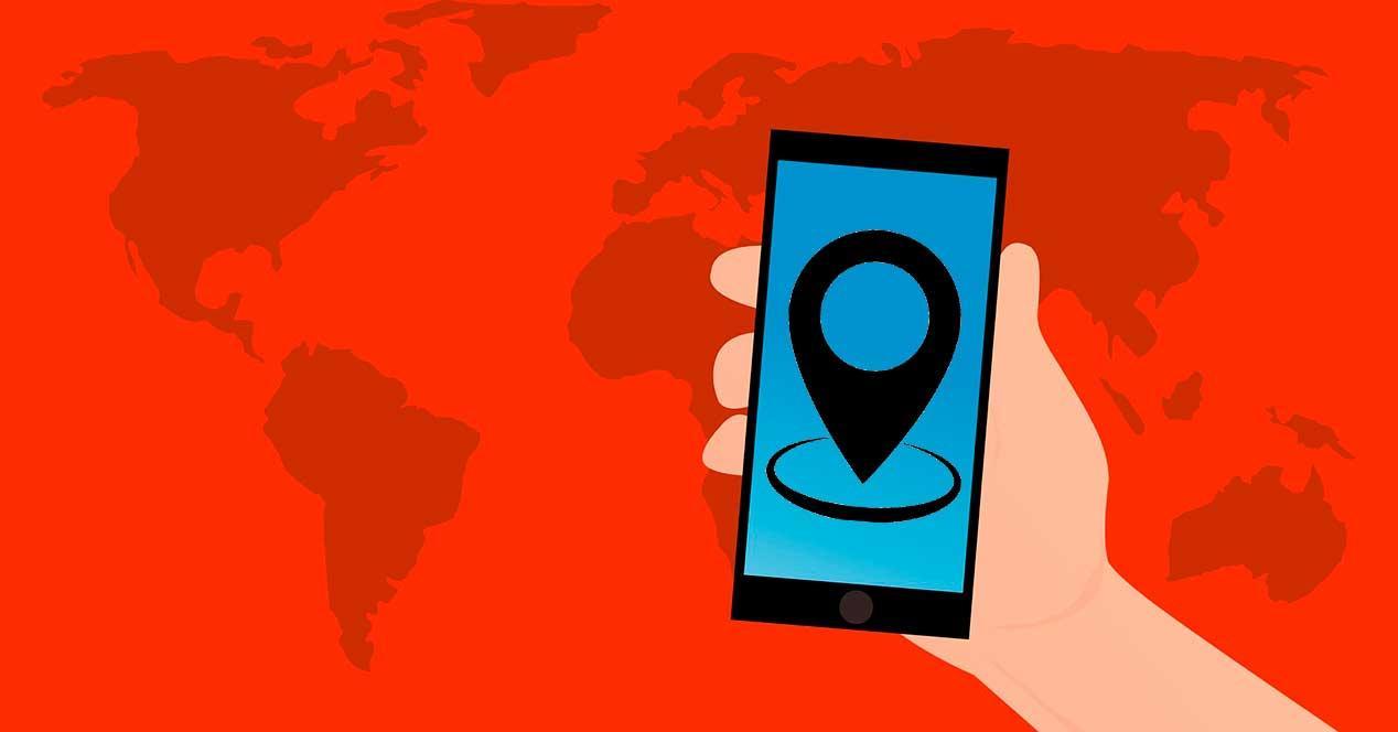 móvil compatible con GPS Dual