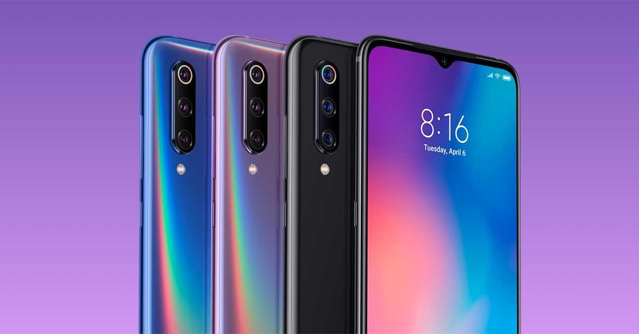notch del Xiaomi Mi 9