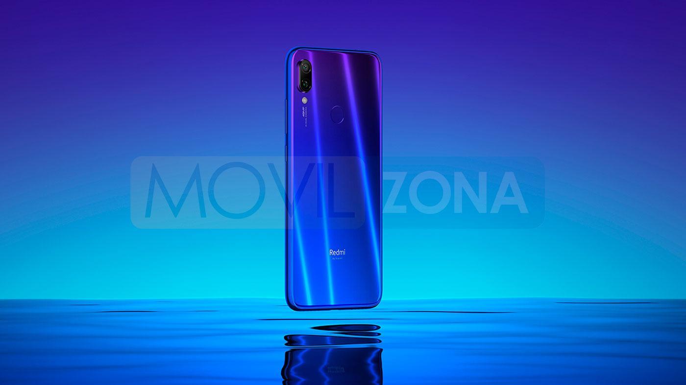 Xiaomi Redmi Note 7 Pro azul