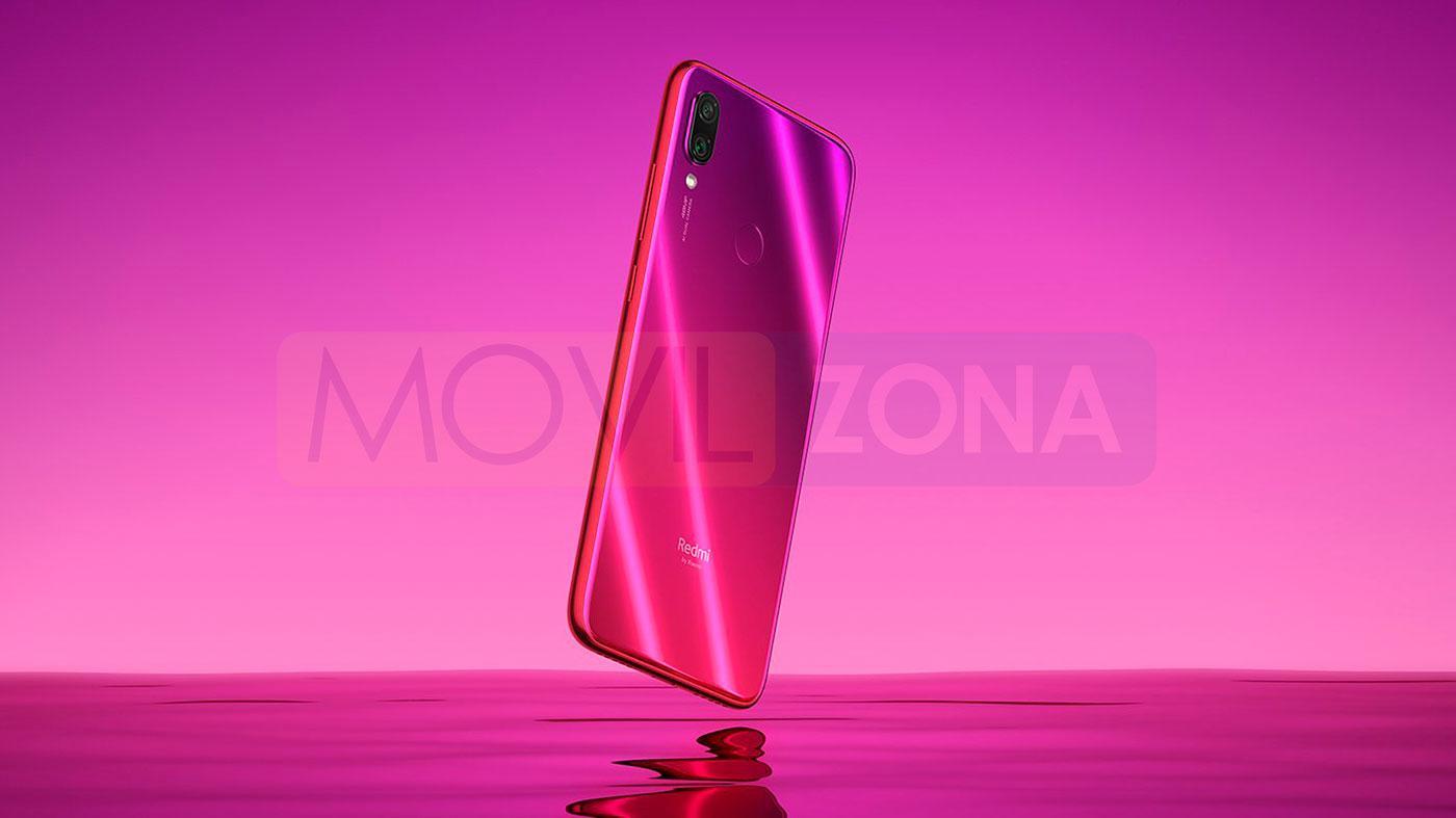 Xiaomi Redmi Note 7 Pro rojo