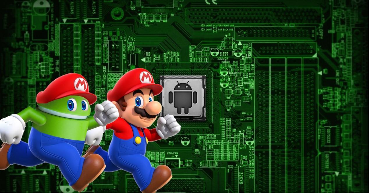 Android Mario portada