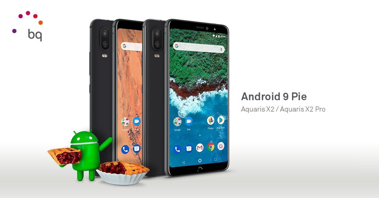 Aquaris Android 9 Pie