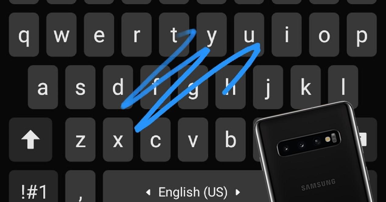 Galaxy S10 teclado